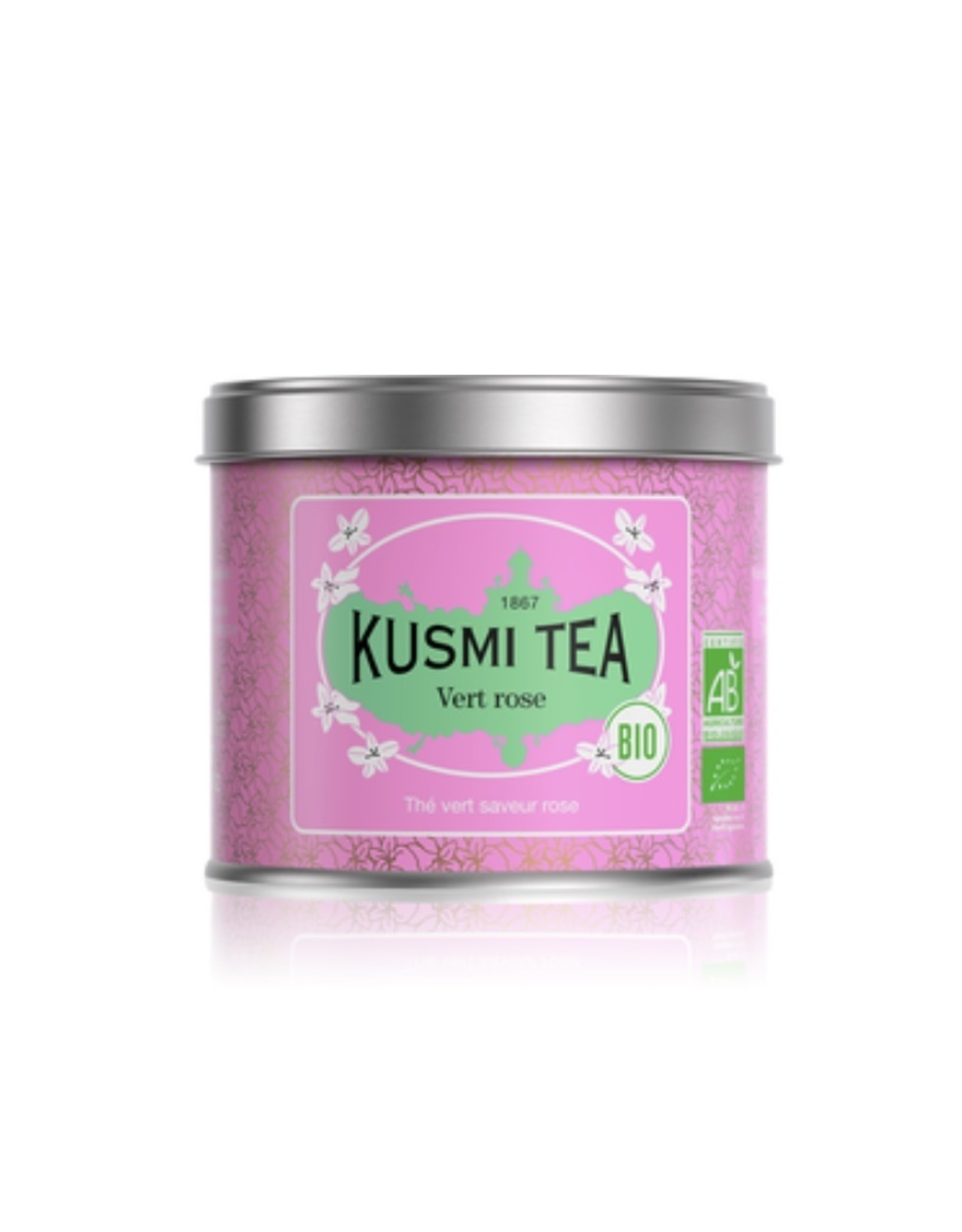 Kusmi Kusmi Tea Green Rose, 100g