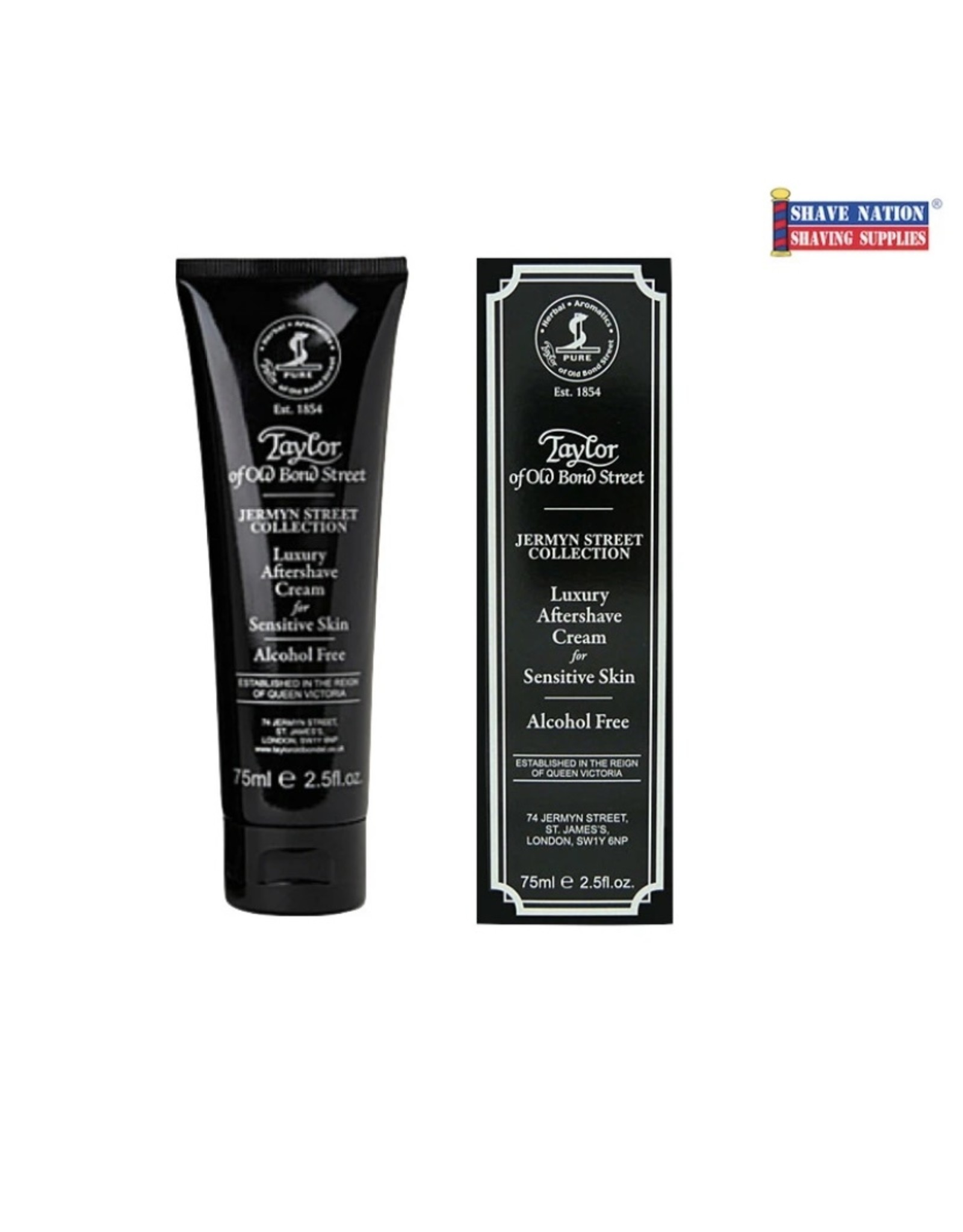 Luxury Aftershave Cream, 75ml
