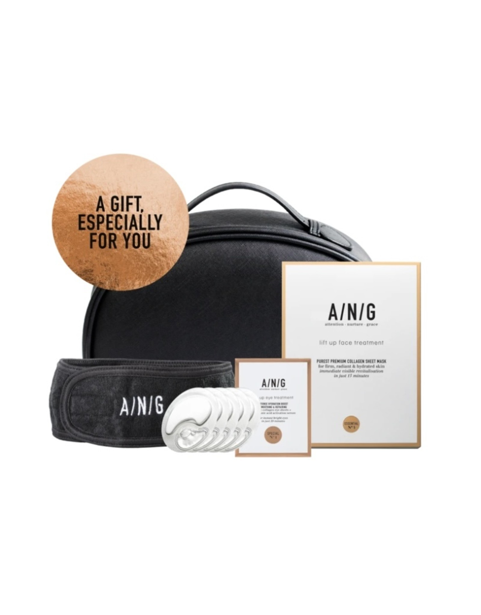 ANG Cosmetics Sparkling Home Treatment Bag