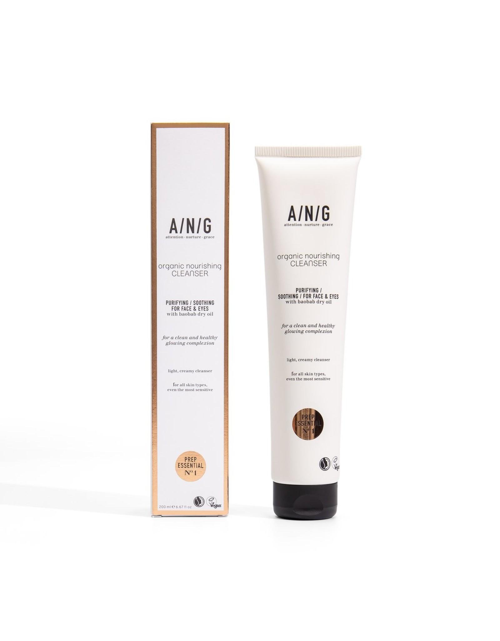 ANG Cosmetics Organic Nourishing Cleanser, 200ml