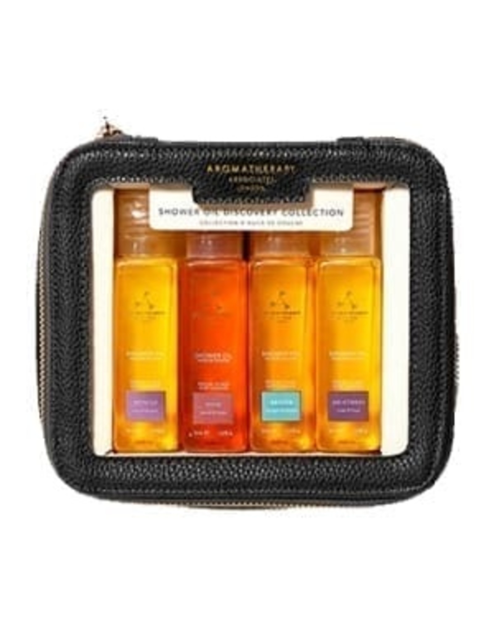 Aromatherapy Shower Oil Discovery Collection, 4x 50ml