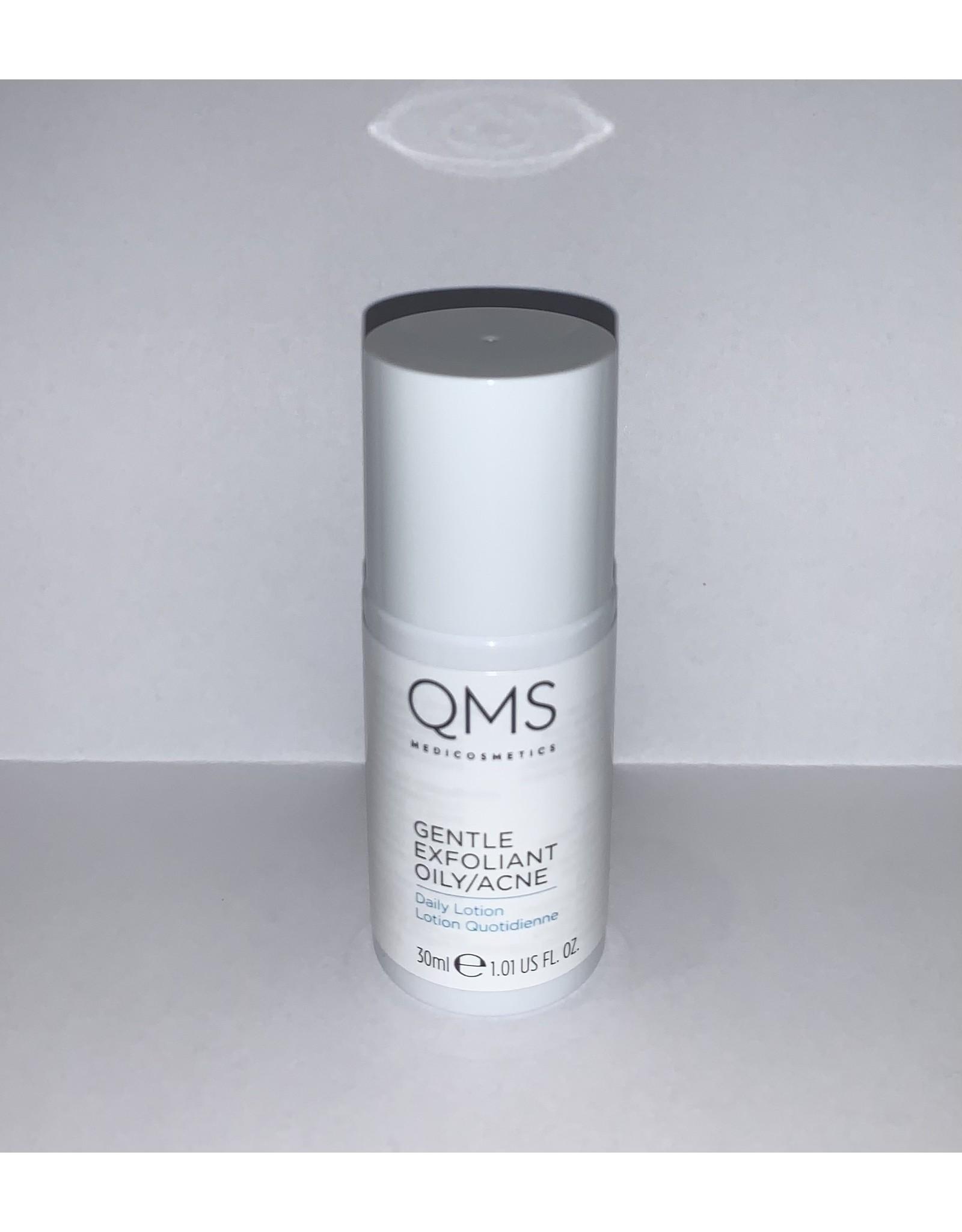 QMS Medicosmetics Travelsize Gentle Exfoliant Oily/Acne, 30ml