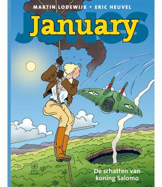 January Jones 03 - De schatten van koning Salomo
