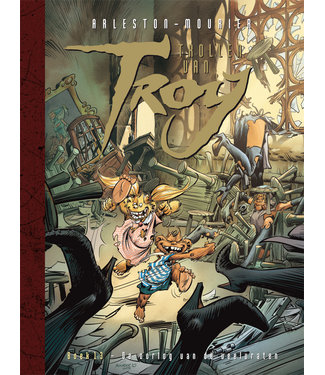 Trollen van Troy 13 - De oorlog van de veelvraten