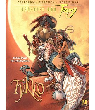 Legenden van Troy Tykko 01 - De windruiters