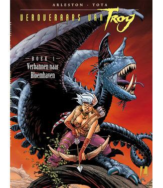 Veroveraars van Troy 01 - Verbannen naar Bloedhaven