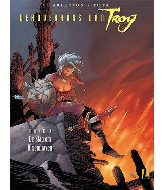 Veroveraars van Troy 03 - De Slag om Bloedhaven