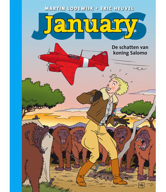 January Jones 03 - De schatten van koning Salomo - Collectors editie