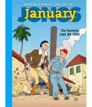 January Jones 05 - De horens van de stier - Collectors editie