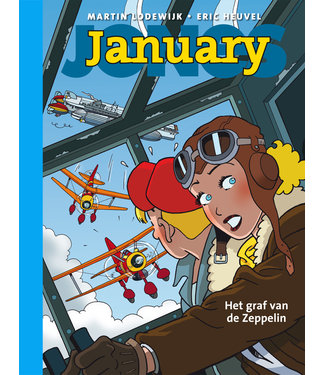 January Jones 06 - Het graf van de zeppelin - Collectors editie