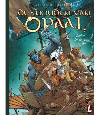 De wouden van Opaal 10 - Het lot van de jongleur BEURS EDITIE