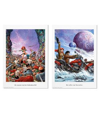 Portfolio Roodhaar versus Storm + Storm tas