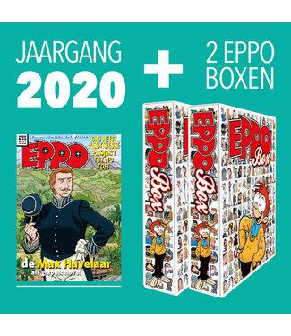 Eppo Stripblad - Jaargang 2020 + 2 Boxen