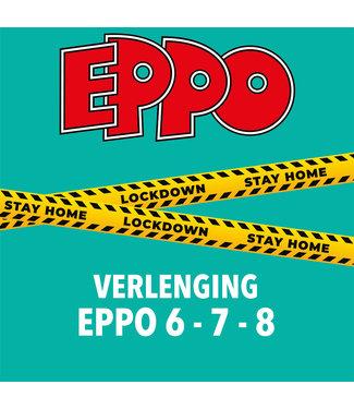 Eppo Stripblad abonnement - VERLENGING LOCKDOWN (EPPO 6 - 7 - 8 2021)