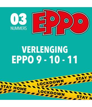Eppo Stripblad abonnement - VERLENGING LOCKDOWN (EPPO 9 - 10 - 11 2021)