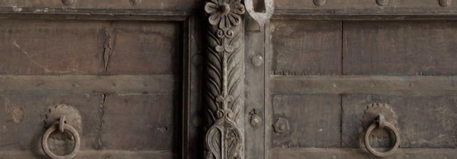 Alte indische Türen