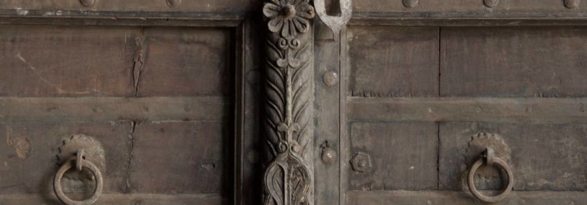 Old Indian doors
