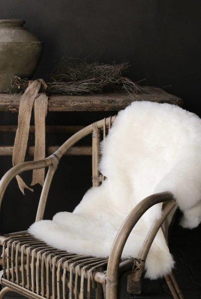 Very soft Sheepskin Creamy white