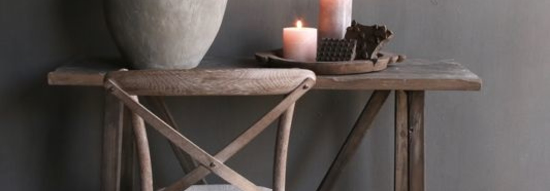 gray wood dining room chair