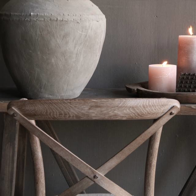 gray wood dining room chair-2