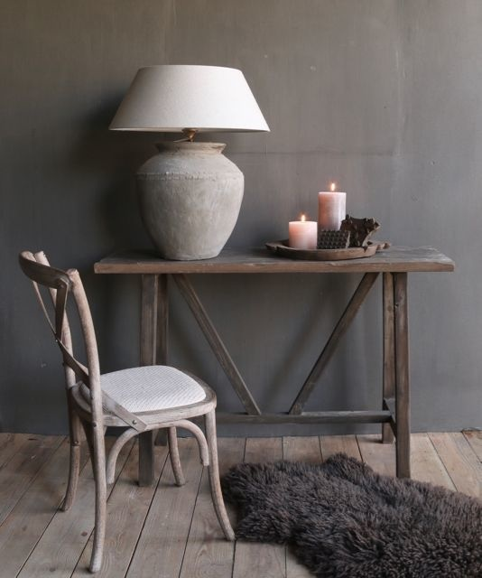 gray wood dining room chair-4