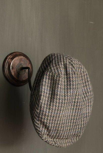 Houten hoedenhaak