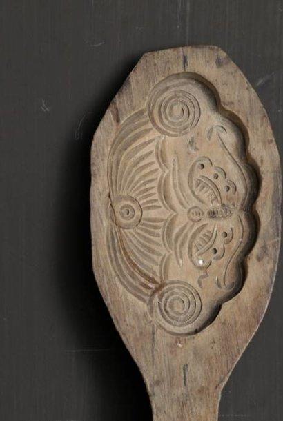 moon cake houten authentieke bakvorm