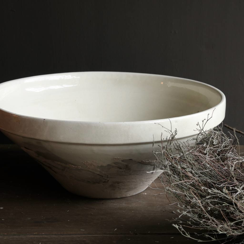 Ceramic Bowl cream / white-2