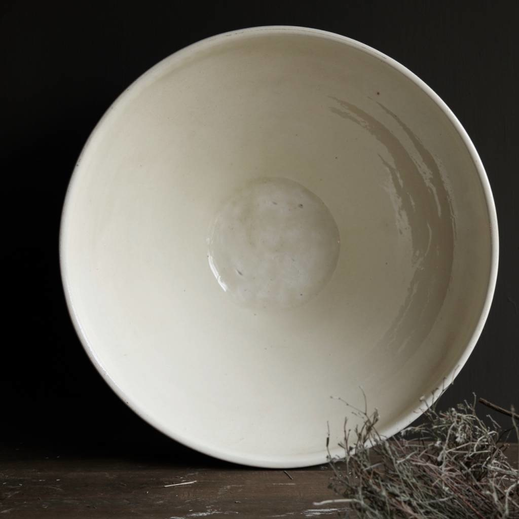 Ceramic Bowl cream / white-3