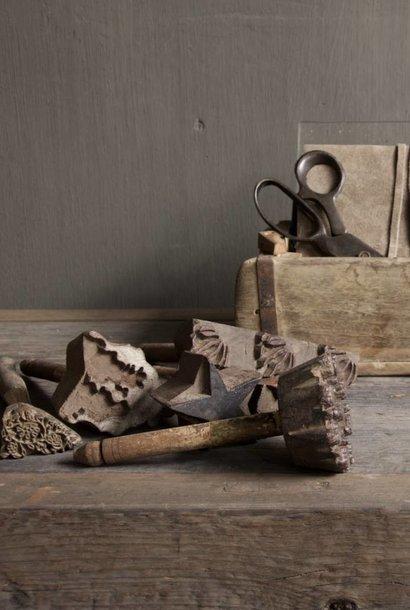 Set a 5 houten Batik stempeltjes