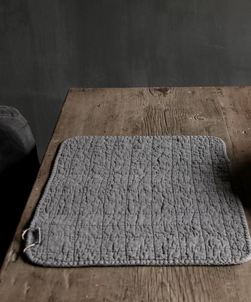 Stonewash Grijs placemat-3