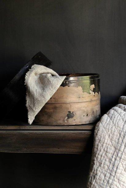 Prachtig gaaf oude houten hoeden doos