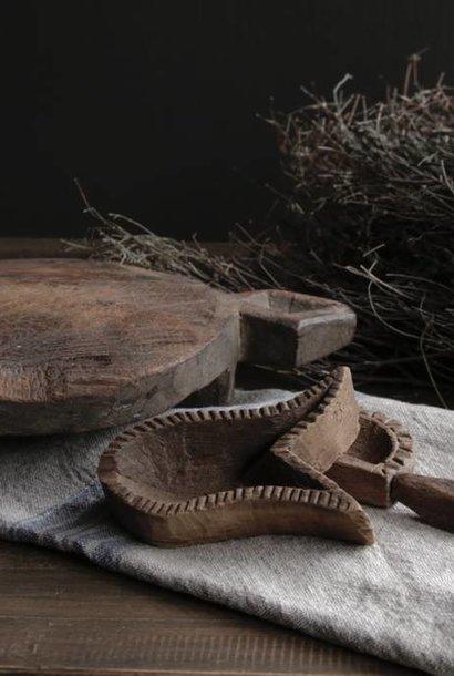 Rundholz Chapati oder Roti Board auch genannt