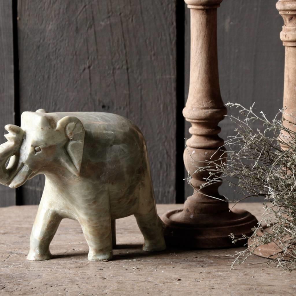 Indisch natuurstenen Olifantje-3