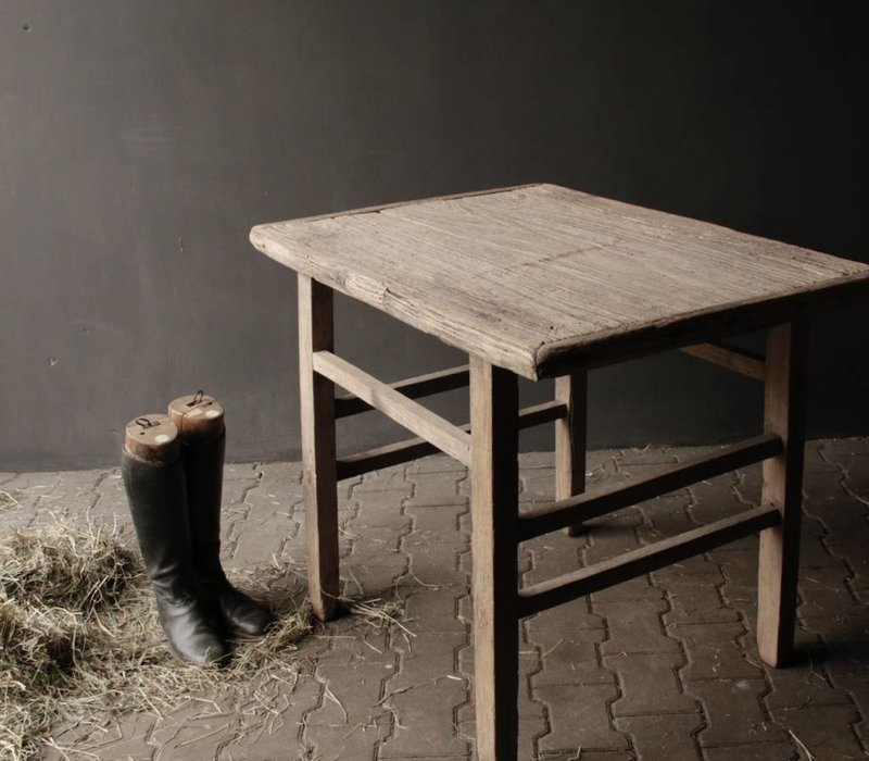 Old Wooden lived Table / Sidetable
