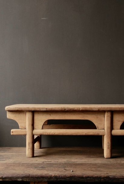 Old wooden tea / Bajot table