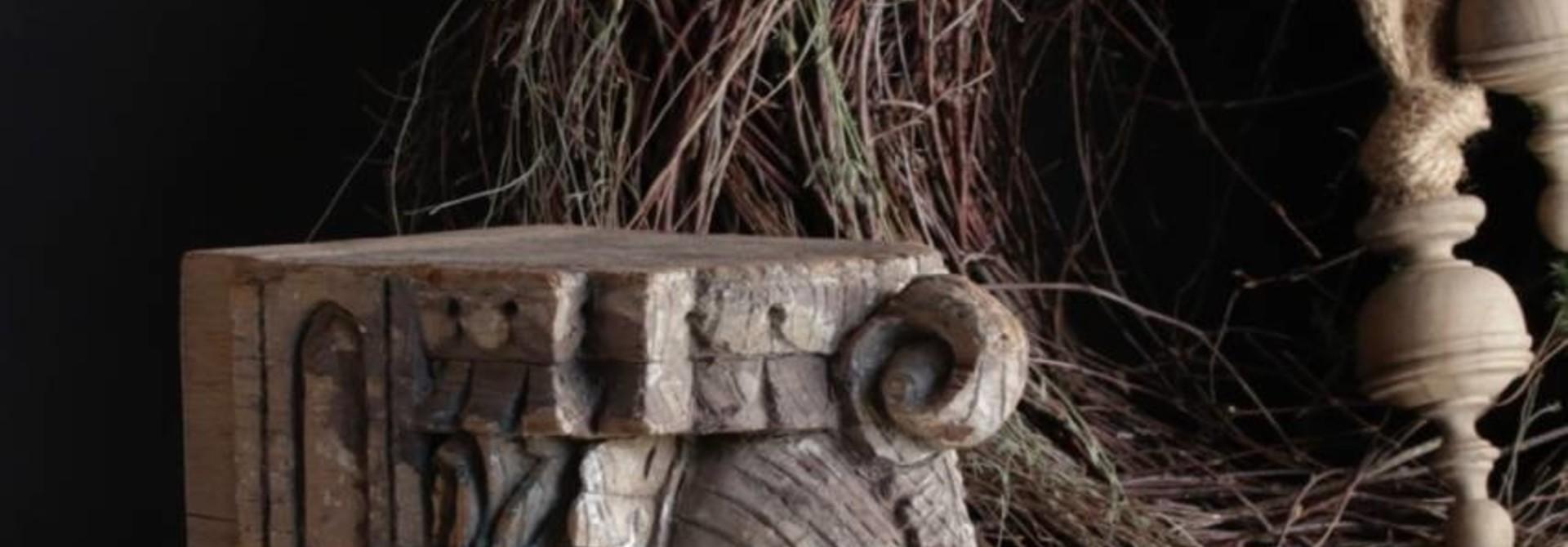 Indischer Elefant Ornament auf Stahlbasis