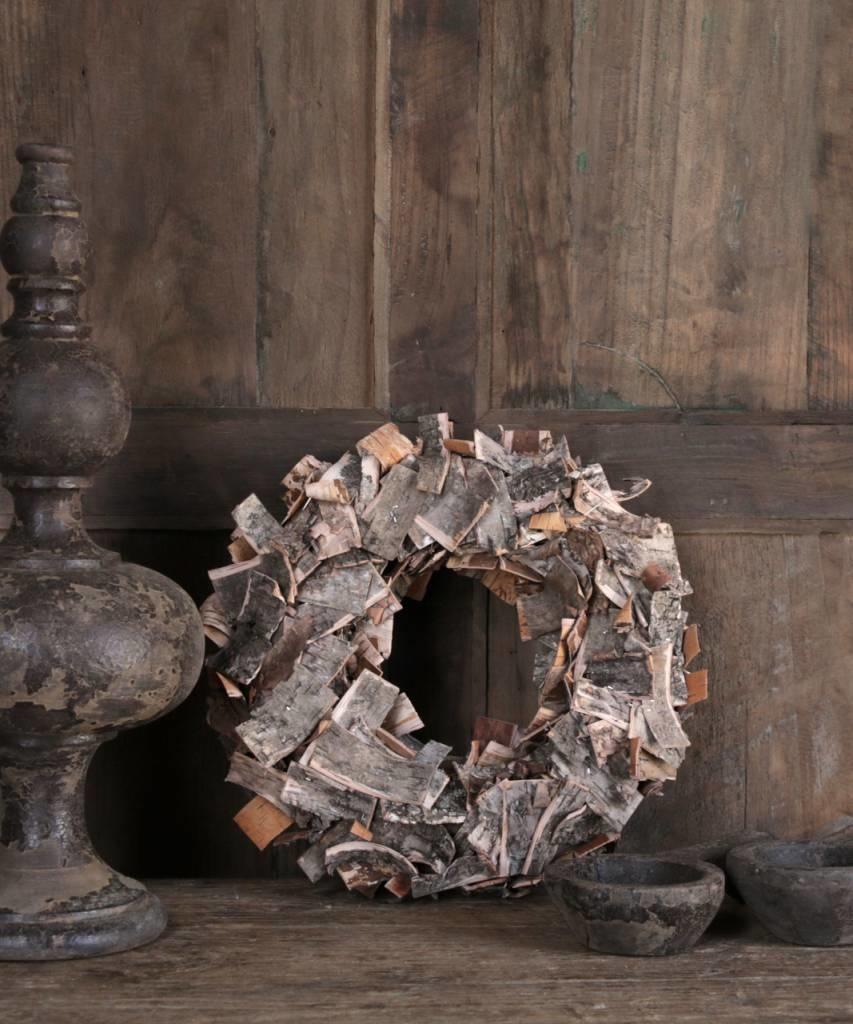 Birch bark wreath-1