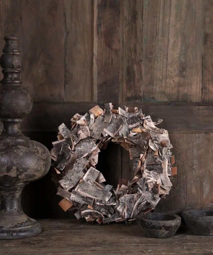 Birch bark wreath-2