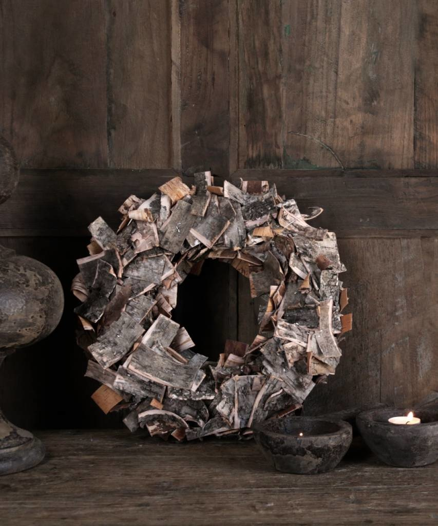 Birch bark wreath-3