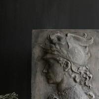 betonnen beeltenis muur paneel