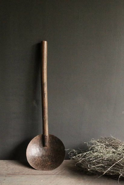 Old Authentic Nepalese iron spoon