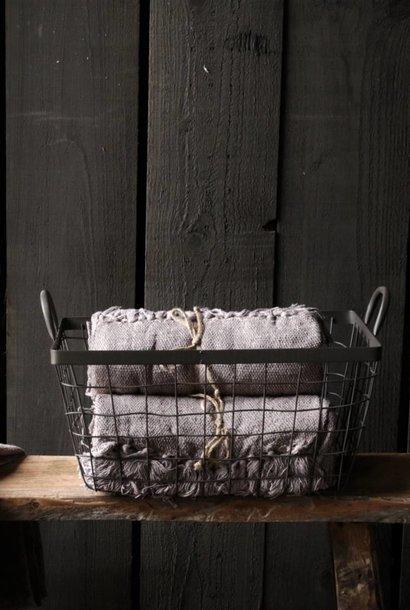 Wire iron basket