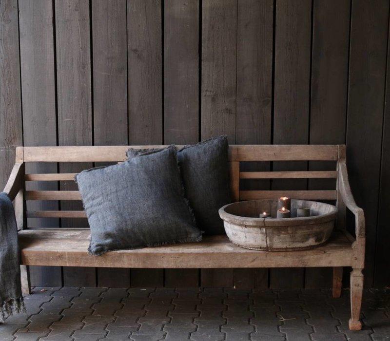 Authentiek oude houten Bank