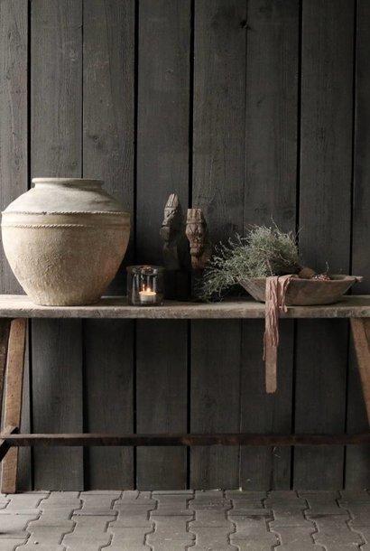 Alter hölzerner Beistelltisch / Wandtisch