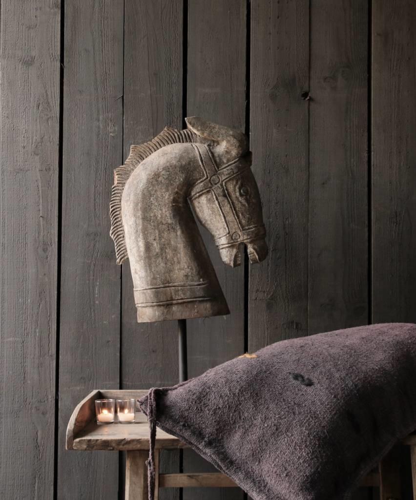 Grote Houten Sterren.Grote Houten Paarden Hoofd Handmade Herberslifestyle