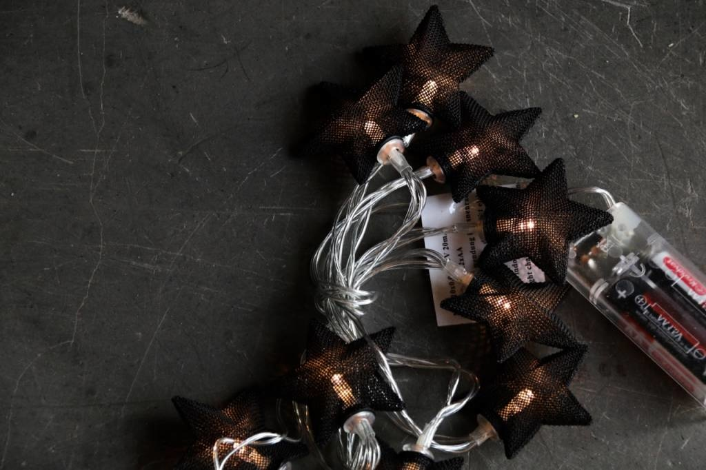 Black Iron Star LED-Beleuchtung-6