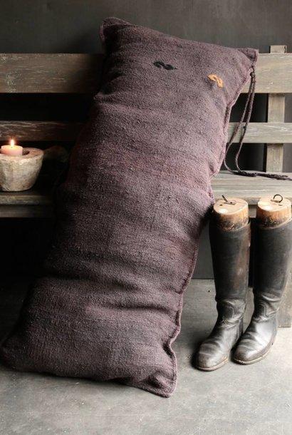 Beautiful Tough long narrow coarse woven Cushion