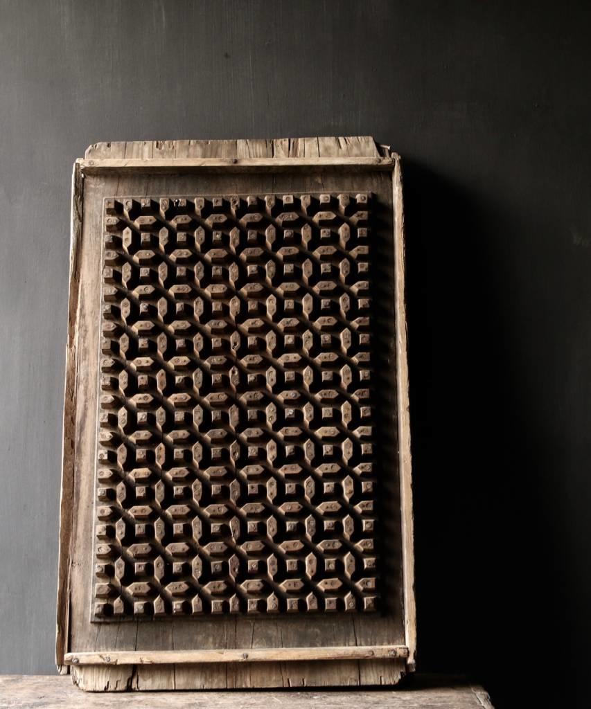 Prachtig Oud houten raam mal-1