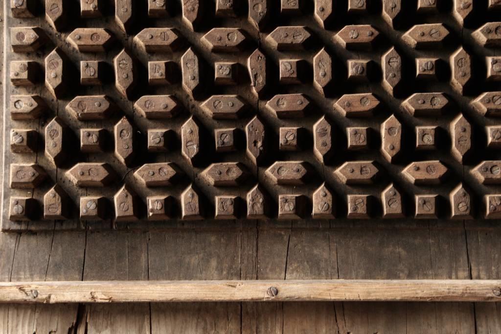 Prachtig Oud houten raam mal-3